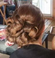 Wedding hairstyle by Krista MacLeod, Indugle Hair Studio