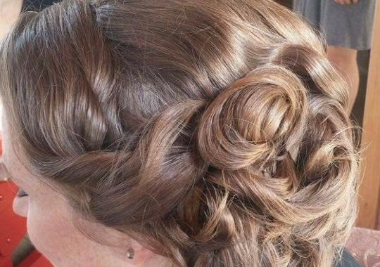 Wedding hairstyle by Krista MacLeod, Indugle Hair Studio