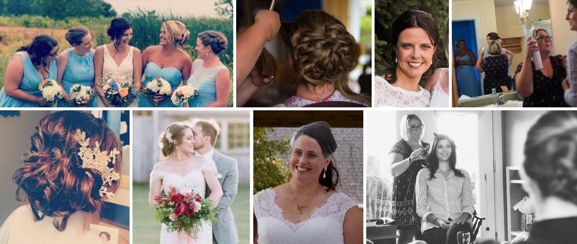 Hairstyling by Krista MacLeod of Indulge Hair Studio